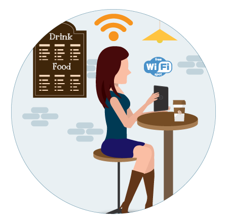 Guest Wi-Fi illustration